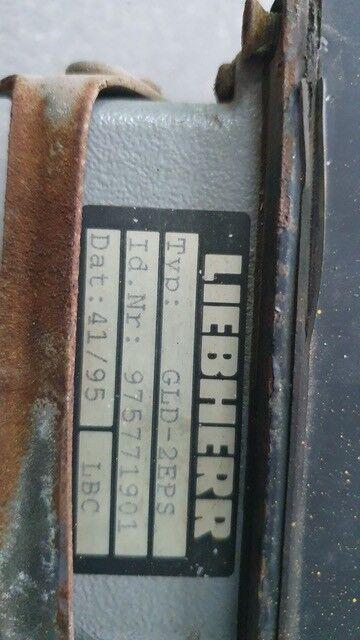 блок управления LIEBHERR /Control unit R912 GLD-2EPS - 975771901/ для экскаватора